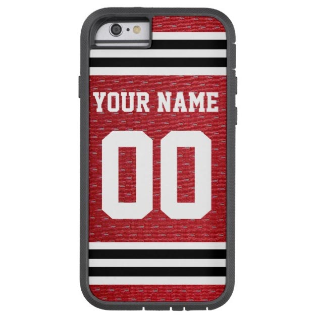 Customized Sports Hockey Jersey Tough Xtreme iPhone 6 Case